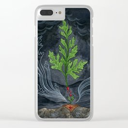 Do Plants Have Ghosts? Clear iPhone Case