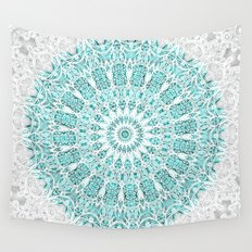 A Glittering Mandala  Wall Tapestry