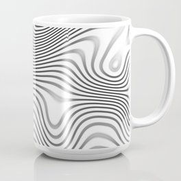 Organic Abstract 02 WHITE Coffee Mug
