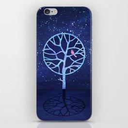 Nightingale tree iPhone Skin