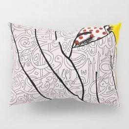 Roy Lichtenstein Meets the Arabic Woman Pillow Sham
