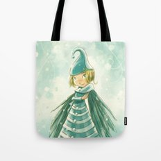 Goblins Drool, Fairies Rule! - Snowflake Shelly Tote Bag