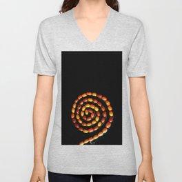 Seeds spiral Unisex V-Neck