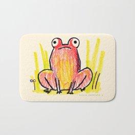 Red Frog Bath Mat