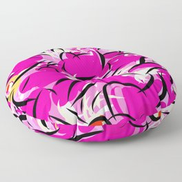 Pink Oblivion Floor Pillow