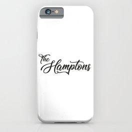 The Hamptons iPhone Case