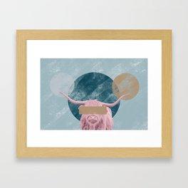 Bull Confidential Framed Art Print