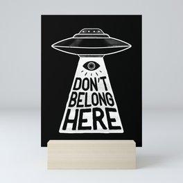 Beam Me Up Mini Art Print