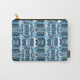 BLUE TOPAZ GEMSTONES FOR  DECEMBER BABIES Carry-All Pouch
