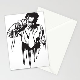 Death at the pump Stationery Cards