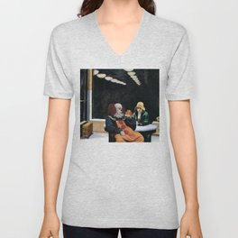 IT's Pennywise in Hopper's Automat Unisex V-Neck
