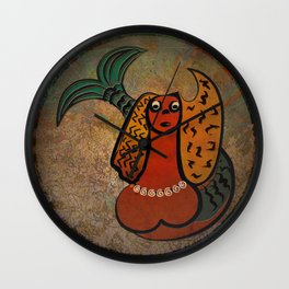 Mythical Mermaid / Icon Wall Clock