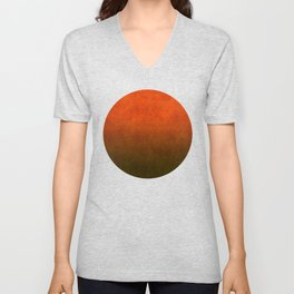 """Sabana Sunset Light"" Unisex V-Neck"