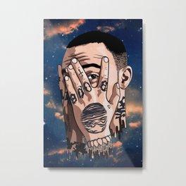 Mac Miller Inspired Air Freshener - Car Air Freshener - Car Accessories - Mac Miller Fan - Musician - Singer Metal Print