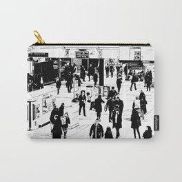 London Commuter Art Carry-All Pouch