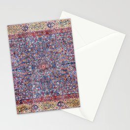 Kashan Central Persian Rug Print Stationery Cards