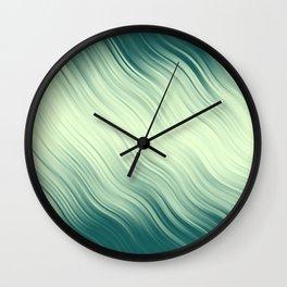Stripes Wave Pattern 10 lg Wall Clock