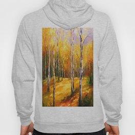 Birch trees Hoody
