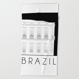 Brazil Facade Beach Towel