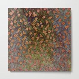 Grenada Floral 2 Metal Print