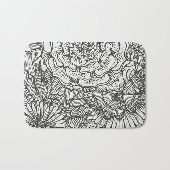 Plants Bath Mat