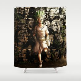Gifted Boy Shower Curtain