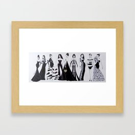 """Bevy Of Beauties"" Framed Art Print"