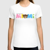 miami T-shirts featuring Miami by Ed Warner