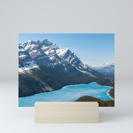 Peyto Lake - Banff National Park, Canada Mini Art Print