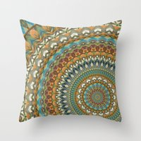 the 100 Throw Pillows featuring Mandala 100 by Patterns of Life