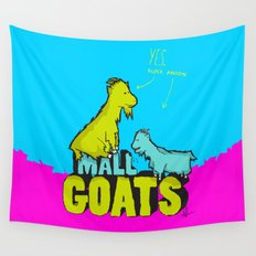 Mall Goats Wall Tapestry