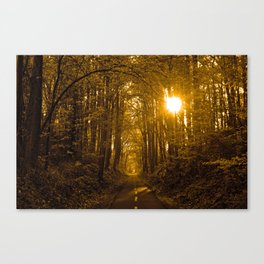 Morning Awaits Canvas Print