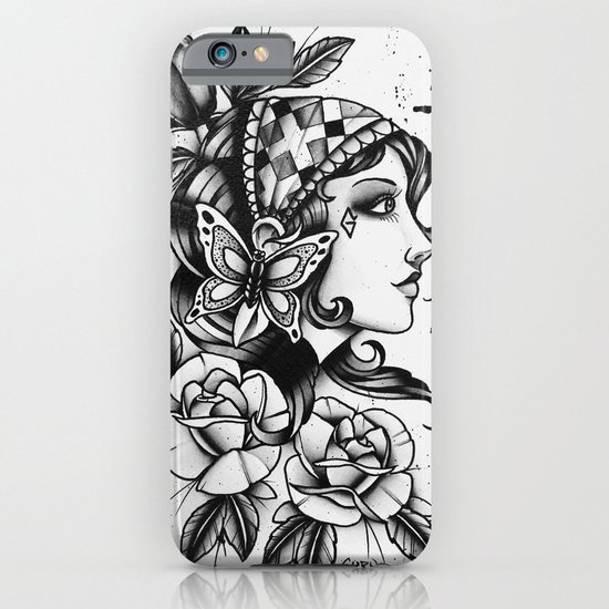 Gipsy Girl - TATTOO iPhone & iPod Case