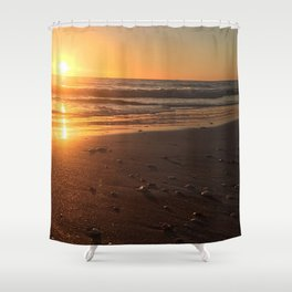Treasure Island Sunset Shower Curtain