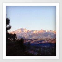 colorado Art Prints featuring Colorado by wendygray