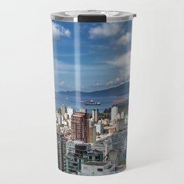 Aerial view at Downtown Vancouver Travel Mug