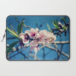 Nectarine Blossoms Laptop Sleeve