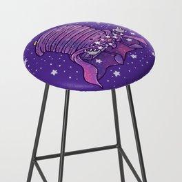 Cosmic Pancake Bar Stool