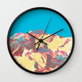 She came down from the mountain ... and she was pissed! Wall Clock