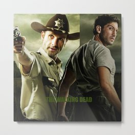 Shane and Rick Metal Print