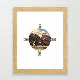 Das Kreuz mit den Rittern · Karl der Große Framed Art Print