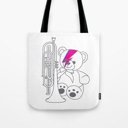 Bix Bowie Tote Bag