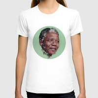 mandela T-shirts featuring Nelson Mandela by LightCircle