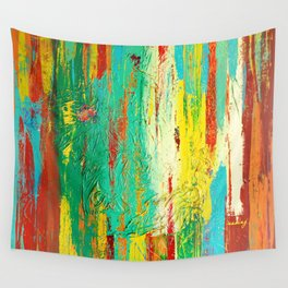All That We See by Nadia J Art Wall Tapestry