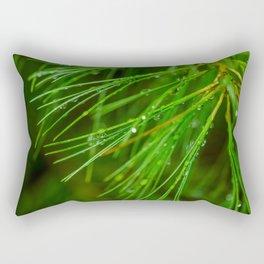 Rainfall Rectangular Pillow