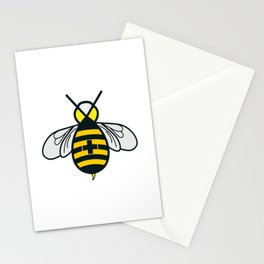 Be positive - Living Hell Stationery Cards