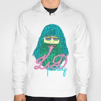 lsd Hoodies featuring Lsd party 2 by DIVIDUS