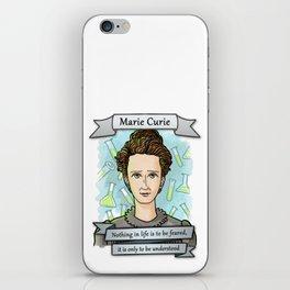 Marie Curie iPhone Skin