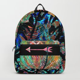 Tribal Boho Dreamcatcher Arrows Backpack