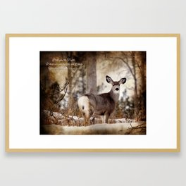 Acts of Random Kindness Framed Art Print
